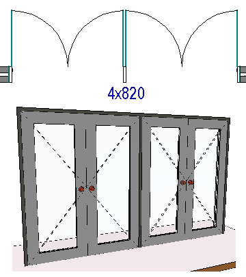 4d library doors for Door u value calculator