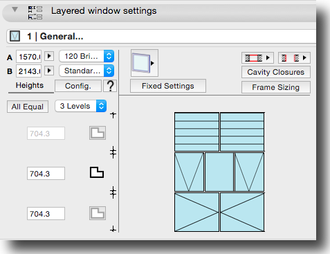 Layered Window UI